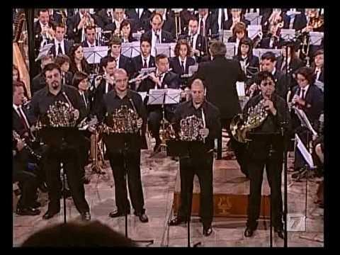 Concierto para 4 Trompas 1/2 - R. Schumann - CIM La Armonica de Buñol - El Litro - Mano a Mano 2008