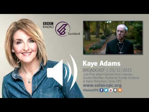 Lord's Prayer -  The Kay Adams Programme   BBC Radio Scotland 23 11 2015