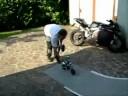ARX 540 backyard backflip