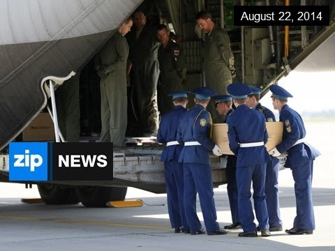 First Malaysian MH17 Victims Flown Home - August 22, 2014
