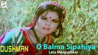 Download O Balma Sipahiya - Lata Mangeshkar @ Dushman - Rajesh Khanna, Meena Kumari, Mumtaz 3Gp Mp4