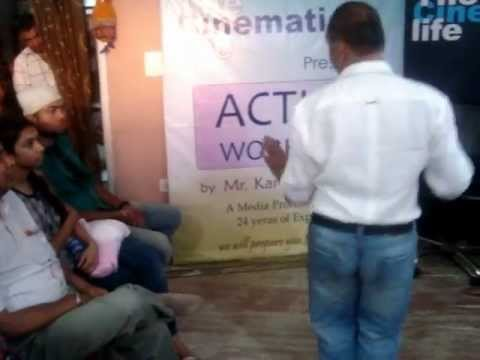 Acting Workshop By The Cinematic Life Expressions Training on...