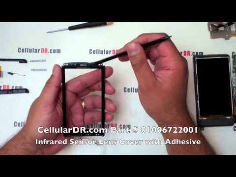 Verizon Droid X Touch Screen Glass Repair - Motorola MB810 Digitizer Window Disassembly Video