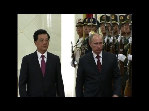 Russia's Putin in China to cement key alliance