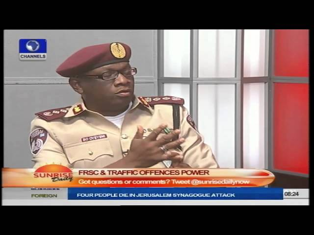 FRSC To Introduce Speed Governor,  June 1, 2015 PT2