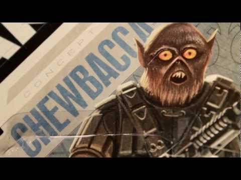 CGR Toys - CONCEPT CHEWBACCA Star Wars figure review
