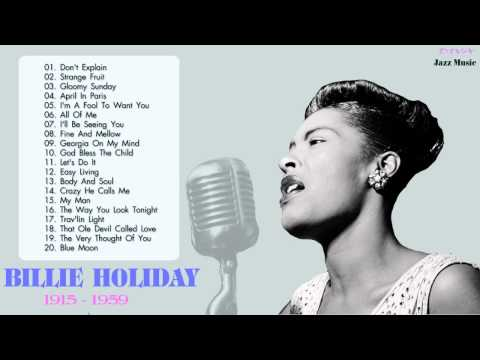 Top 30 Songs Billie Holiday  Billie Holiday Playlist HQMP3