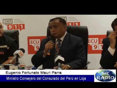 Confirman 4 peruanos fallecieron fallecieron en accidente de tránsito en Loja