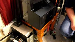 HP Laserjet Pro 200 M276nw Color Laser Printer Unboxing