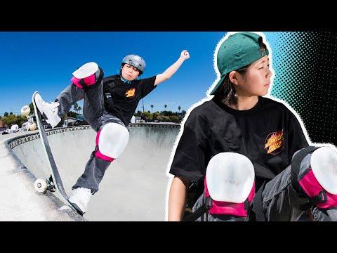 540's at 13?! Misugu Okamoto Raw & Uncut   Santa Cruz Skateboards
