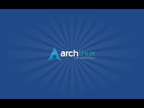 Chris Switches to Arch: Day 1
