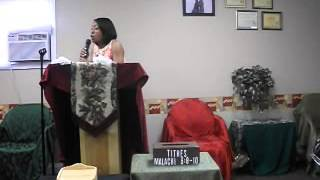 THE CHURCH IS PERFECT PART 1 01-13-13...Co. Pastor Ruth Nesbitt