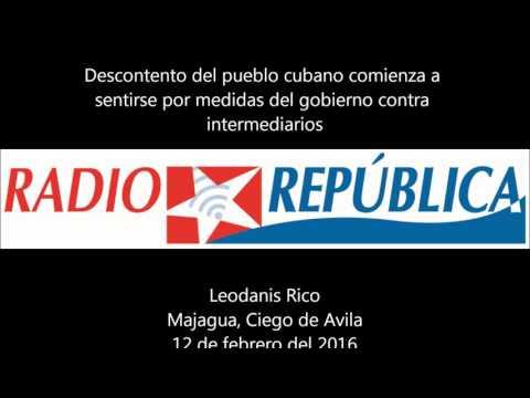 Descontento popular en Cuba por medidas del gobierno contra intermediarios
