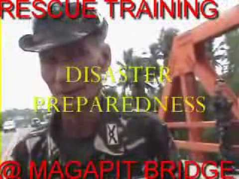 DISASTER PREPAREDNESS TRAINING AT MAGAPIT BRIDGE @F.Y.I.O