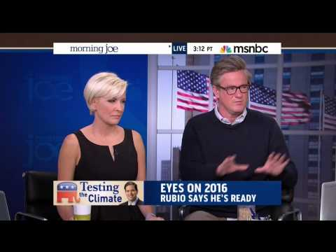Joe Scarborough Rejects Rubio's Climate Change Denial