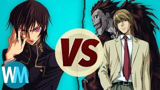 Code Geass Vs Death Note