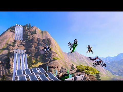 Trials Fusion《特技摩托賽:聚變》Launch Trailer 上市預告片 - Ubisoft SEA