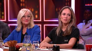Nienke Plas en Corry Konings over de Expeditie Robinson ruzie - RTL LATE NIGHT MET TWAN HUYS