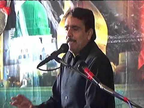 Zakir sajad shumari majlis 21 safar 2017 imam bargha  zahra s.a rahawali cant gujranwala