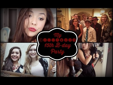 Get Ready With Me: My 15th Birthday Party - Hollywood Movie Premier video