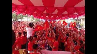 """""""Cơn lốc đỏ"""" đổ về Sơn Hải và lễ ra mắt Liên Minh Cờ Đỏ có một không hai trong lịch sử Cờ Đỏ VN"""