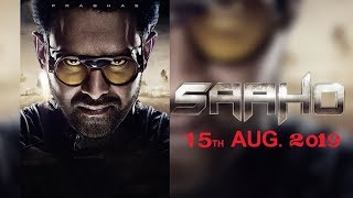 Prabhas latest movie release date announced  #Saaho motion poster Fan Made |  silverscreen