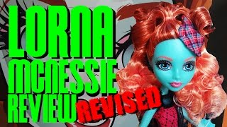 Lorna McNessie Monster Exchange Review - Monster High Revised