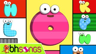 ABC Song - The Alphabet Song lyrics music with lead vocal | Nursery Rhymes  | Ultra HD 4K Video