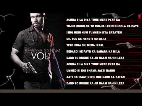 Bewafa Sanam Vol.1 Non Stop Songs - Jukebox - Sonu Nigam Anuradha...