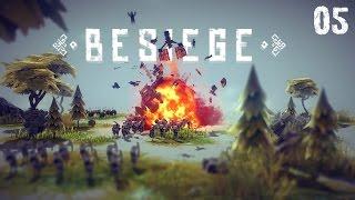 Besiege 005 - gepanzerter Mähdrescher mit Rückwärtsgang