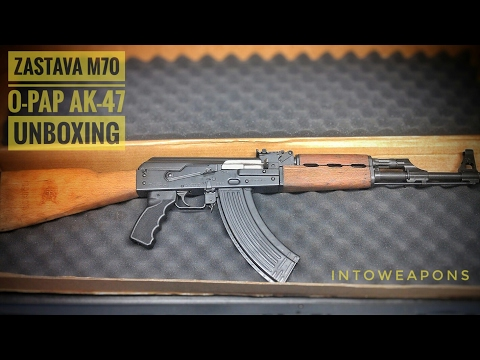Zastava O-PAP M70 AK-47 - Unboxing and Overview