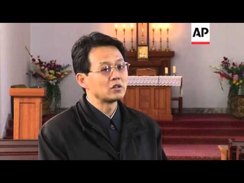 Catholic church official says NKorea faithful said prayers for Pope Francis