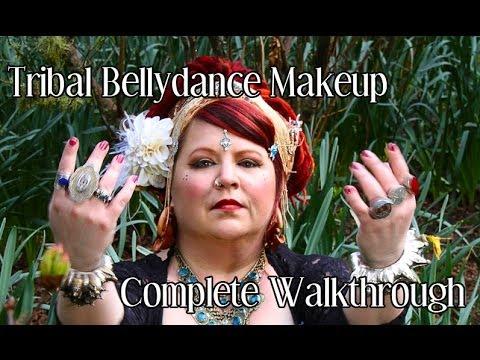 Ats / Tribal Bellydance Makeup