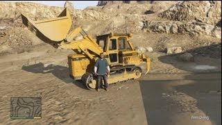 How to get  a Bulldozer in Grand Theft Auto 5
