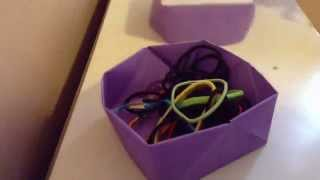 Origami Box | Diy Holders ♥