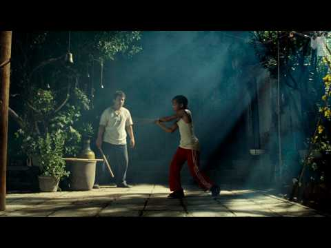 The Karate Kid | training clip FIRST LOOK Jaden Smith, Jackie Chan