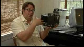 How to Use a Large Format 4x5 Camera : Large Format 4 x 5 Camera Parts: Bellows