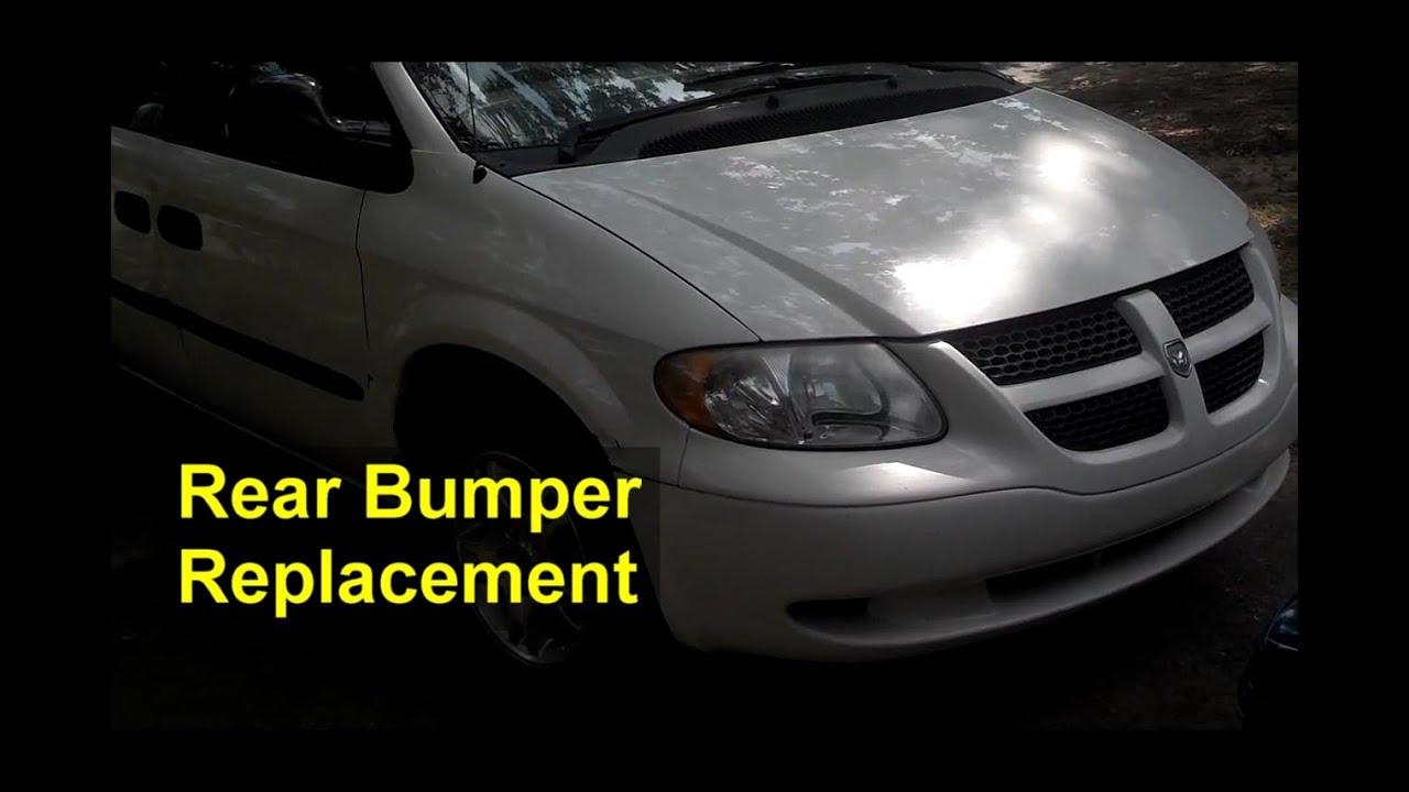 Rear Bumper Cover Replacement Dodge Grand Caravan Auto