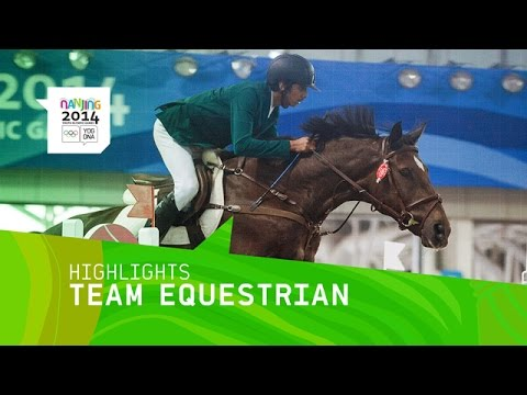 Highlights from Day 4 at the Nanjing 2014 Youth Olympic Games involving the International Team Equestrian event. Medals: Gold - Europe Silver - South America...
