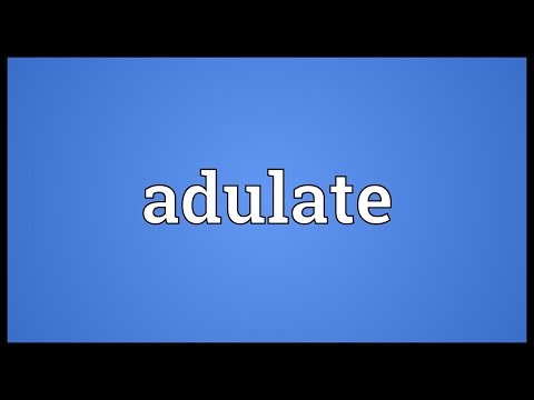 Header of adulate