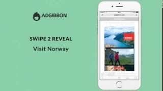 AdGibbon HTML5 Rich Media - Swipe 2 Reveal