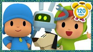 🤖 POCOYO em PORTUGUÊS do BRASIL - Meu amigo Robô [ 120 min ] | DESENHOS ANIMADOS para crianças