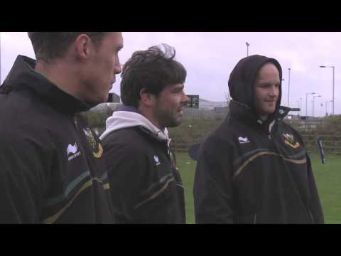 Ben Foden helping future young rugby stars - Northampton Saints players help drive the future of rug