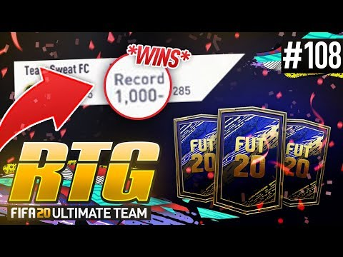 1,000 WINS IN FIFA! - #FIFA20 Road to Glory! #108 Ultimate Team