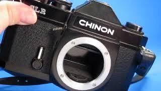 Chinon SLR Camera Testing