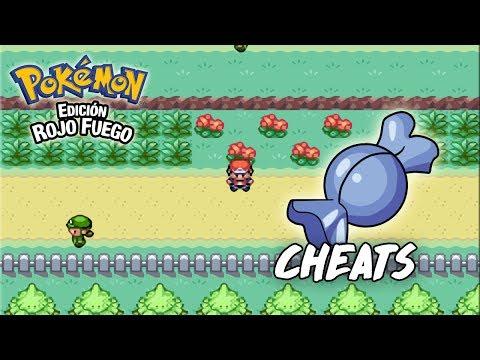 COMO TENER CARAMELOS RAROS INFINITOS EN POKEMON ROJO FUEGO | Cheats/Trucos en Pokémon