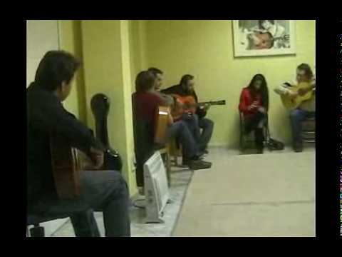 Academia Cañorroto El Entri.Bulerias con la familia Jimenez.