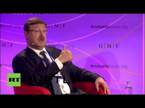 Belgium: Ukraine wants Russia to stay under sanctions, says Kosachev