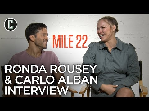 Ronda Rousey On Why She Wouldn't Let Peter Berg Shave Her Head In Mile 22