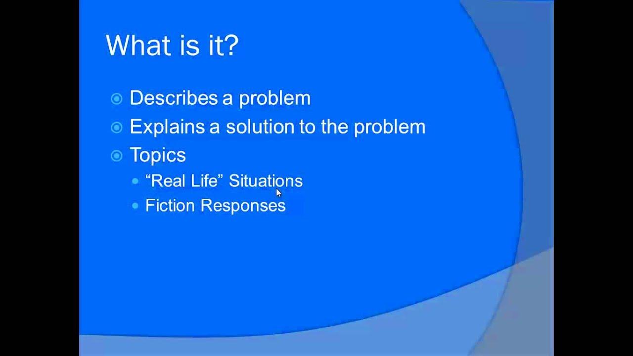 Solution essay